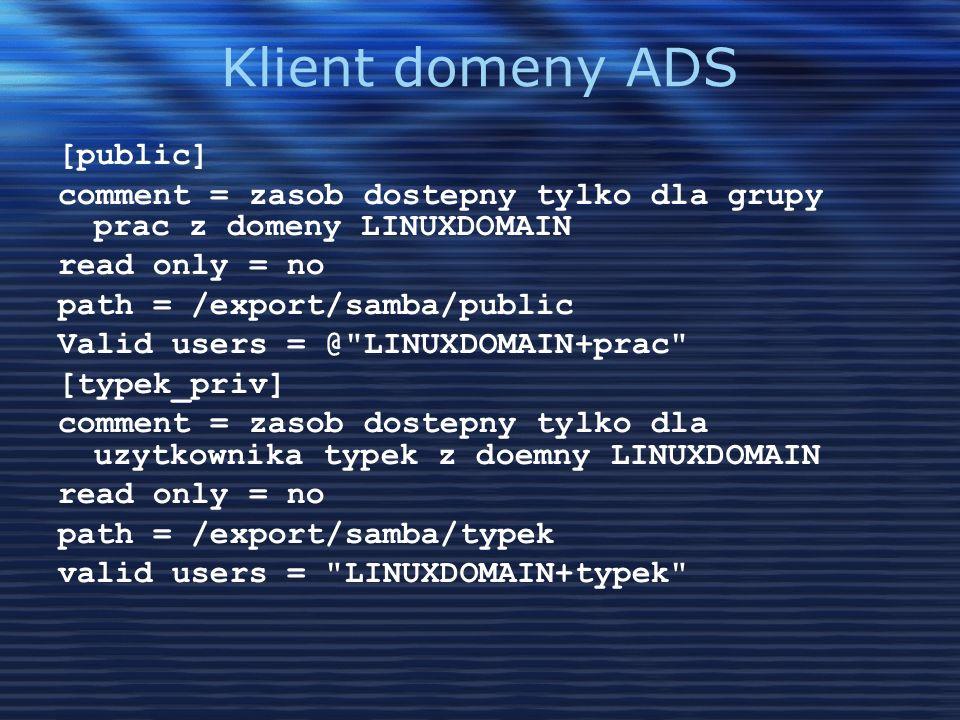 Klient domeny ADS [public]